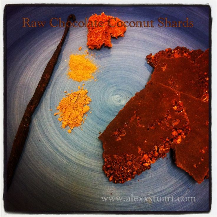 Chocolate Coconut Brittle