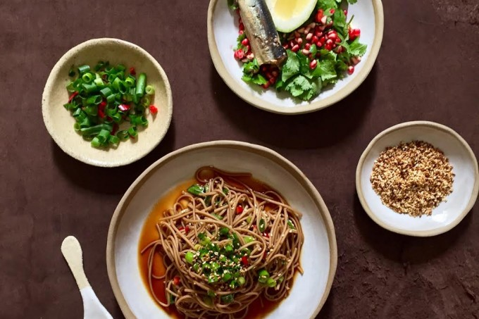 Simple Buckwheat Soba noodles